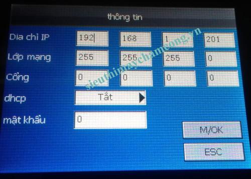 ip may cham cong van tay