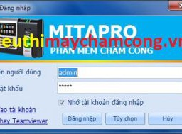 phan mem cham cong mita pro